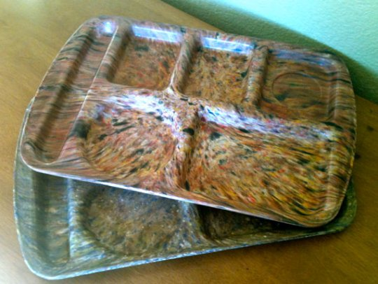 Lunch Trays from Leightonstreet on Etsy